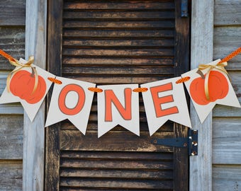 Pumpkin High Chair Banner, Fall High Chair Banner, Little Pumpkin Banner, Harvest Banner, Pumpkin Banner