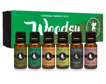 Woodsy Gift Set 6 Count Pack 10ml (SALE)