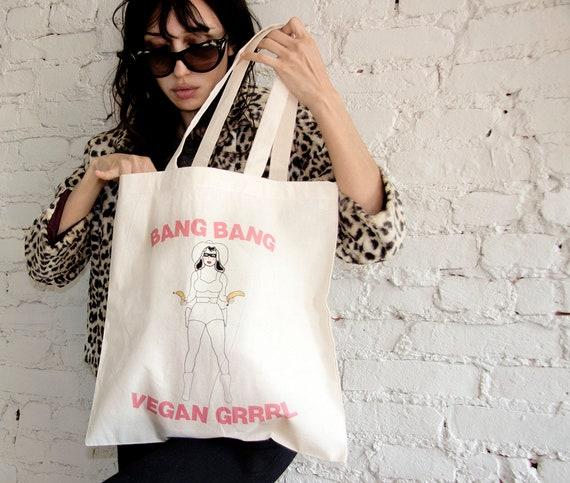 Vegan Bandit Tote Bag