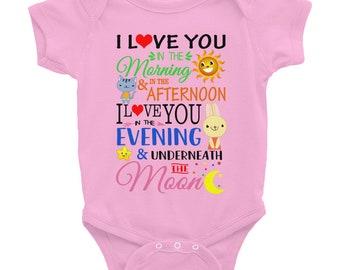 Skidamarink a dink a dink onesie-skidamarink I love you shirts gift for babies-super simple songs-baby songs