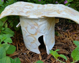 Yellow Rose Faerie House #164