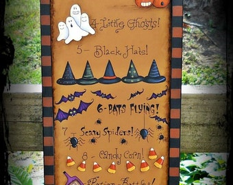 13 Days of Halloween - Painted by Sharon Bond, Painting With Friends E Pattern