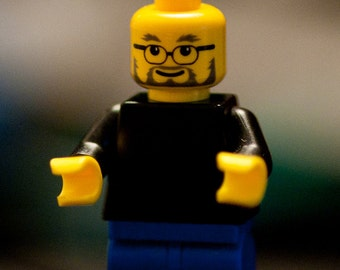 Steve Jobs / founder of Apple - exclusive minifigure