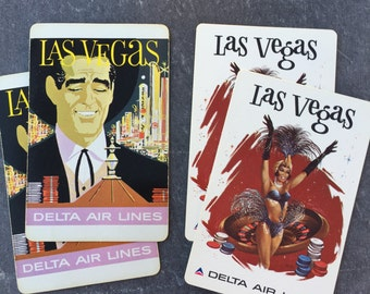 Vintage Las Vegas Playing Cards