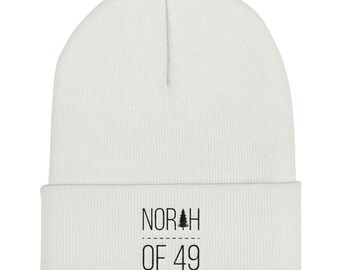 North of 49 Tuque - White