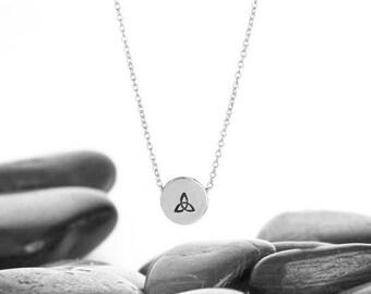 Trinity Knot, Celtic Necklace, Celtic Knot Necklace, Celtic Knot, Triquetra Necklace, Trinity Necklace, Celtic Jewlry