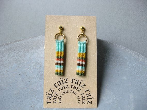 Ypê . Stud Drop Earrings . © Design by .. raïz ..