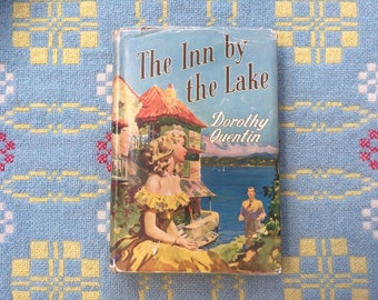 1950s Vintage Romance Novel - The Inn by the Lake - Dorothy Quentin - Rare First Edition - Set by Lake Lugano