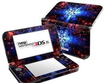 Nintendo 3DS XL Skin - Geomancy by Digital Blasphemy - Sticker Decal Wrap - New 3DS XL - Original 3DS XL