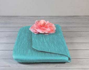 Teal Photo Clutch Photo Purse Personalized Photo Clutch Mother of bride Wedding Gift Photo Clutch Purse Bridesmaid Gift Purse with Picture