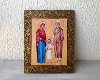 Saint Joseph,St Joseph,Patron Saint,Husband of Mary,Orthodox Saint,Chtistian Saints,Saints Artwork,Saint Icon,Guardian of the Holy Family