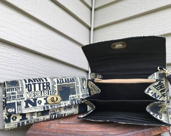 Daily Prophet Wallet, Harry Potter Wallet, HP Wallet, Harry Potter NCW , Undesirable Wallet, HP Fandom Wallet