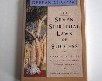 Vintage Book, The Seven Spiritual Laws of Success, Deepak Chopra