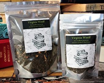 Virginia Woolf Inspired Tea - Author -   - Tea Gift - Literary Gift - Bookish Gift - Author Gift - Tea