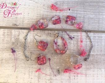 Set Flowers Cyclamen-purple-resin/Flower sets Cyclamen-violet-resin