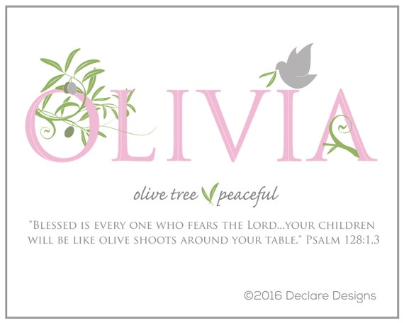 Olivia meaning biblical