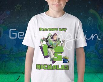 Buzz lightyear Birthday Shirt, Buzz lightyear shirt, Toy story birthday shirt, Toy Story Party, Buzz lightyear, Buzz lightyear party