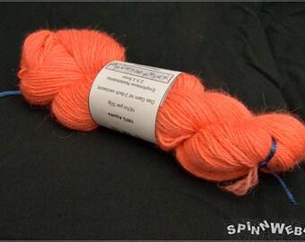 New!  Hand dyed yarn- 100% Alpaca, 1,76oz, 183yards