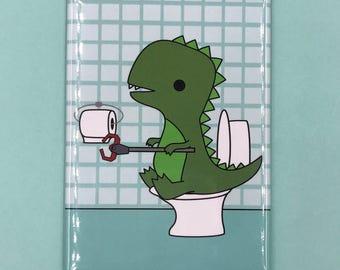 T-Rex Toilet Paper Grabber
