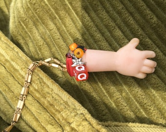 Baby Doll Hand Necklace
