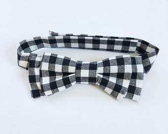 Wade Bow Tie - Gingham