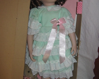 "Porcelain Doll 24"" Paradise Galleries"