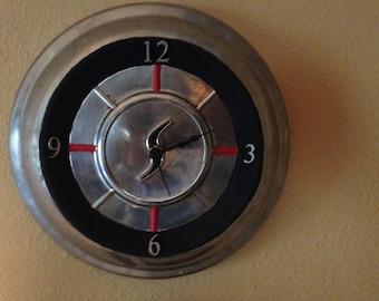 Car Hub Cap Clock