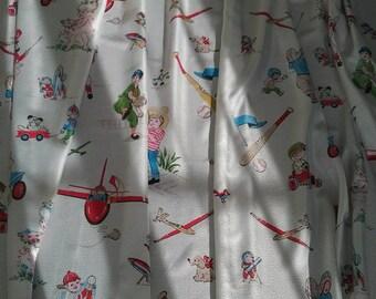 Atomic Age Children's  Curtains
