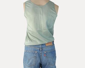 High waisted Levi's 501 denim shorts