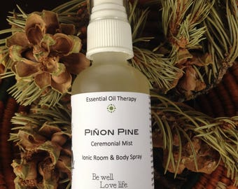 PIÑON PINE spray, smudge, for meditation, ritual, ceremony, clearing & purification, shamanic work, Reiki