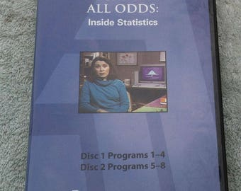 Against All Odds: Inside Statistics, complete 7 dvd set