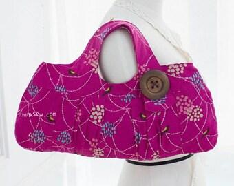 Lindsey Tote Bag PDF Sewing Pattern (#10)