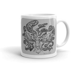 Gray Moose Mug
