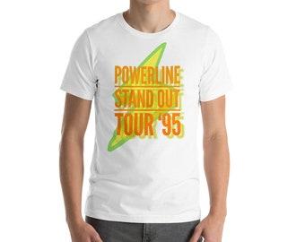 Powerline -  Mens T-Shirt