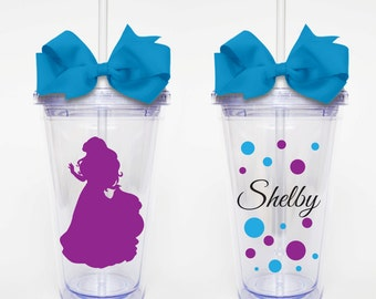Disney Princess Ariel - Acrylic Tumbler Personalized Cup