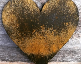 Rustic Heart-Home Decor-Wall Art-Patina Wall Art-Rustic Decor