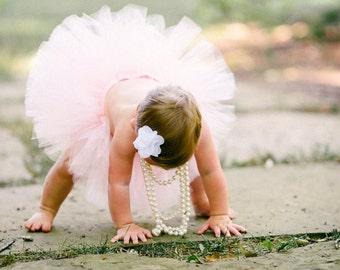 First Birthday Outfit Girl Tutu, Baby Girl Tutu Dress, Baby Tutu, Baby Girl Coming Home Outfit, Tulle Skirt, Baby Shower Gift, Newborn GIrl