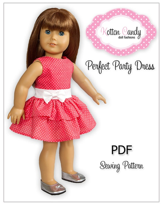 American Girl Sewing Pattern PDF Doll Clothes Epattern