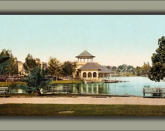 Poster, Many Sizes Available; West Side Park, Los Angeles, California, 1902