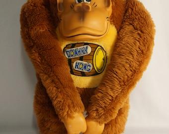 "1982 Nintendo Donkey Kong 15"" plush by Antics -- it's the big boy."