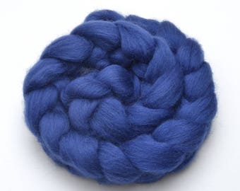 Shetland Wool Combed Top - Blue - Conservation Breed - 100 grams