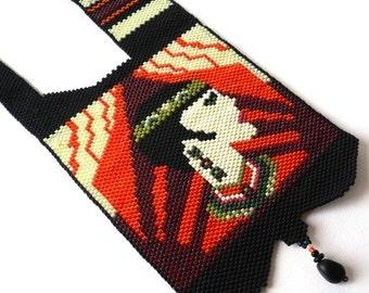 Peyote pattern for Deco Dulcie necklace