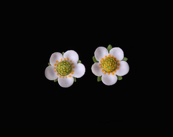 Wild Strawberry Mini Stud Earrings