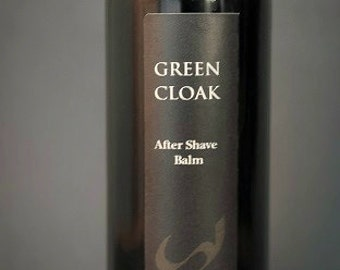 GREEN CLOAK organic After Shave Balm, Gifts For Him, Groomsmen Gifts, Natural Aftershave, Men's Grooming, Organic Aftershave