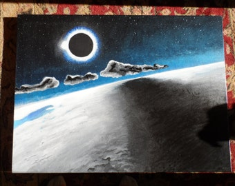 Eclipse - Original Fine Art