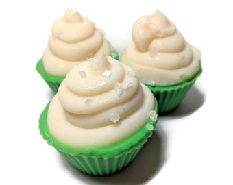 Margarita Lime Soap Cupcake - Cold Process Soap