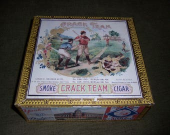 Crack Team/Diamond Curve King Cigar Box Baseball Stadium