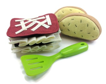 Lasagna Felt Play Food Set
