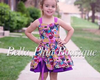 Super Hero Poppy Dress