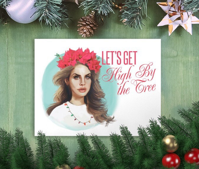Del rey christmas card hipster holiday zoom bookmarktalkfo Image collections